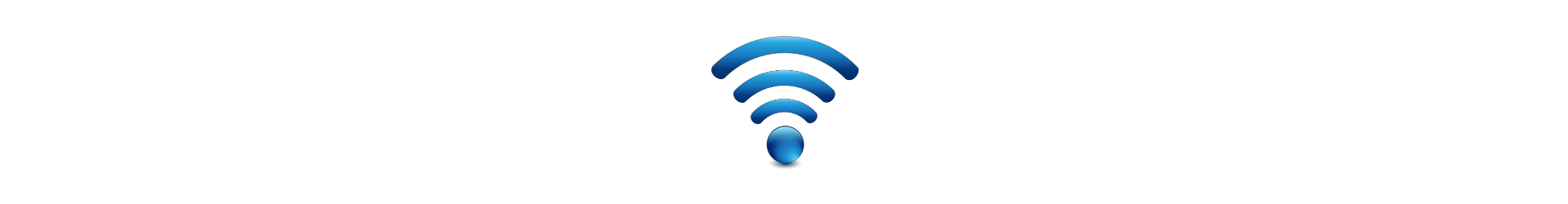 Free fibre optic broadband wi-fi in all rooms